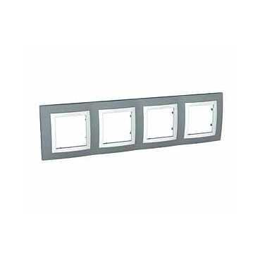 Unica Basic krycí rámeček 4nás. TECHNICO/POLAR MGU2.0088.58