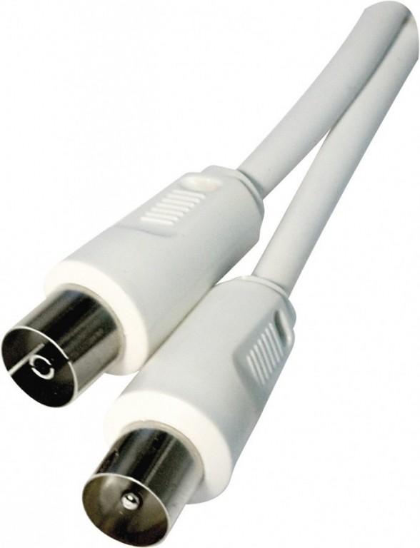 Anténní koaxiální kabel stíněný 7,5m, rovné vidlice - SD3007