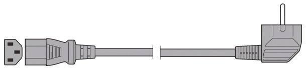 Flexo šňůra PVC 3x0,75mm 1,5m černá k PC - S11370