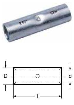 Kabelová spojka KU-L 25