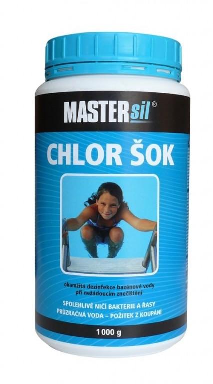Chlor šok 1kg MASTERsil