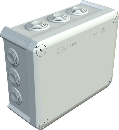 Krabice OBO T 160 - 2007093 - násuvné těsnění