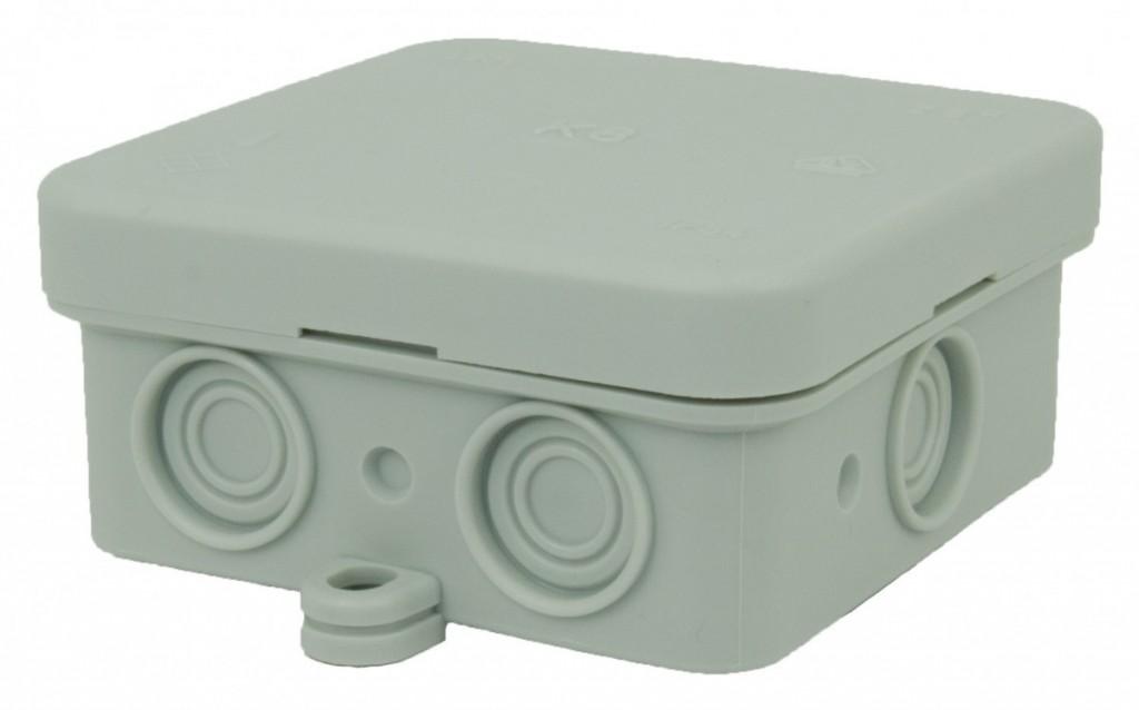 Krabice K8 IP54 šedá - 75x75x36