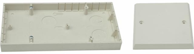 Panelová krabice SEZ 6482-11 dvojitá s víčkem