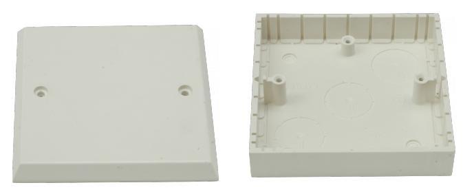 Panelová krabice SEZ 6481-10 jednoduchá s víčkem