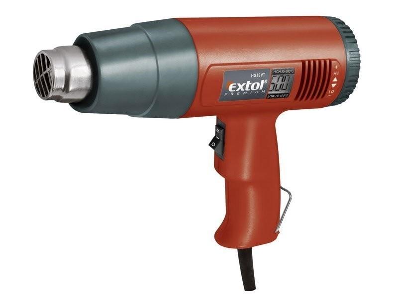 Pistole horkovzdušná s nastavitelnou teplotou - 8894802
