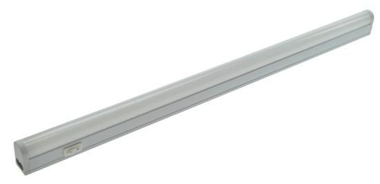LED kuchyňské svítidlo T5, vypínač, 9W, 4100K, 60cm - WO203