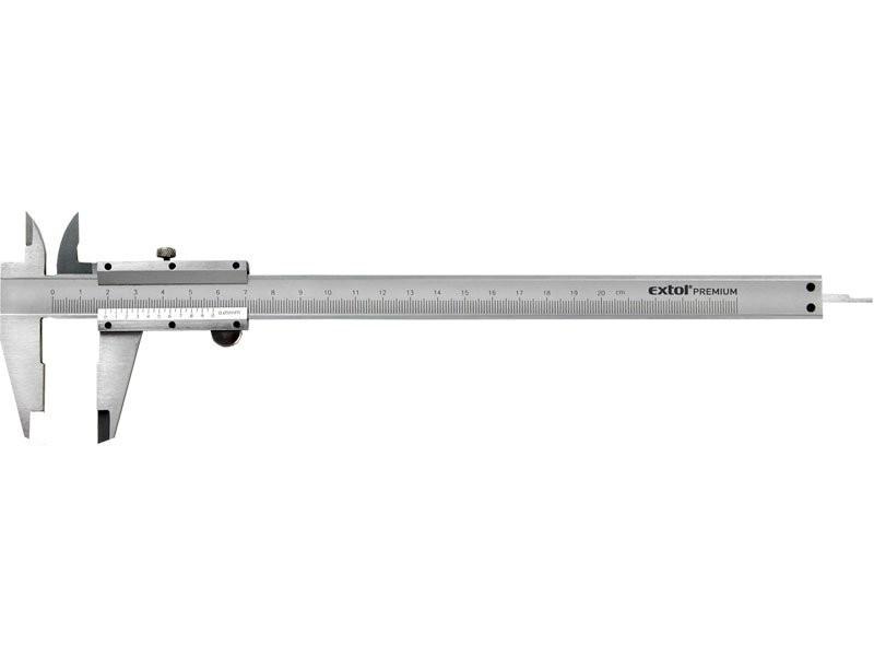 Měřítko posuvné kovové 0-200mm EXTOL PREMIUM 3422