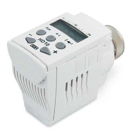 Digitální termostatická hlavice HD10 - Elektrobock