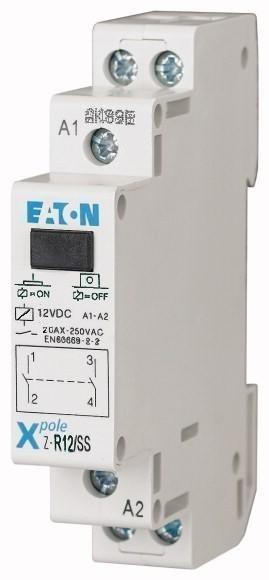 Instalační relé EATON Z-R12/SS 12V AC - 265175