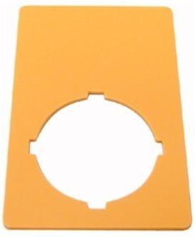 Označ. štítek nouzového zastavení prázdný M22-XZK - 216470