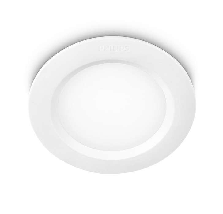 Svítidlo podhledové PHILIPS LED Alcyone 6W 77112/31/16 bílé