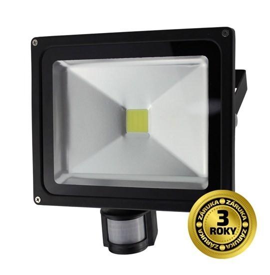 LED reflektor SMD s čidlem poh.50W černý WM-50WS-E - SWM50WSE