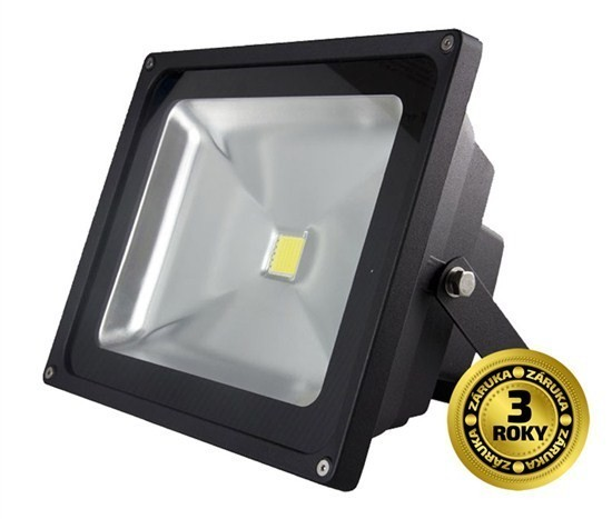 Solight LED venkovní reflektor 30W, 2400lm, AC 230V - WM30WE