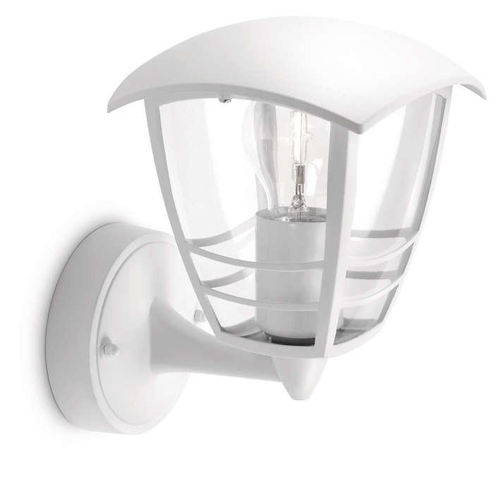 Philips venkovní svítidlo 15380/31/16 E27 60W IP44 bílá