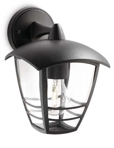 Philips venkovní svítidlo 15381/30/16 E27 60W IP44 černá