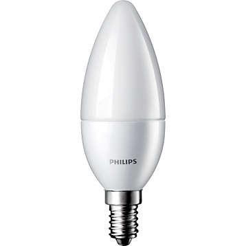 PHILIPS CorePro LEDcandle ND 5,5-40W E14 827 B35 FR - teplá bílá, svíčka