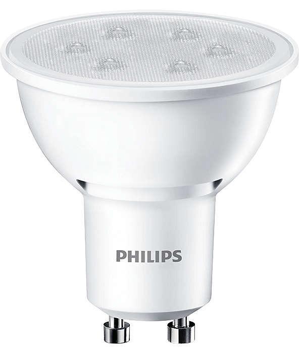 PHILIPS CorePro LED 3,5W(35W) GU10 827 - teplá bílá