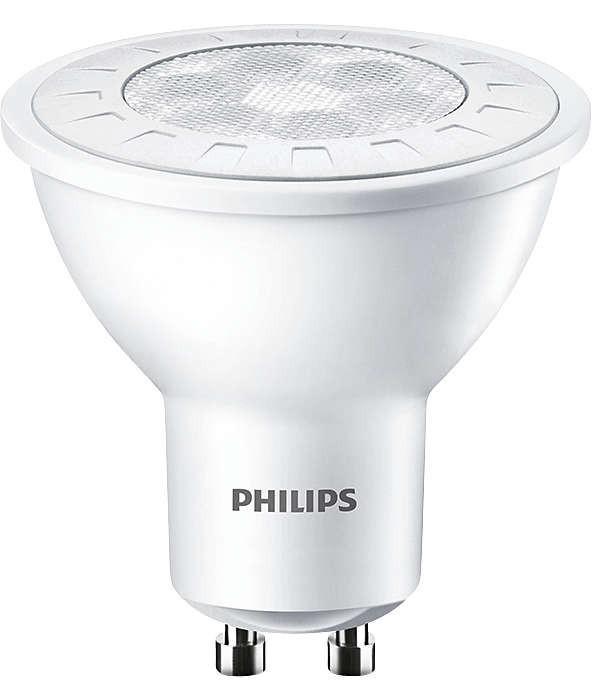 PHILIPS CorePro LEDspotMV 6,5-65W GU10 830 36D - teplá bílá